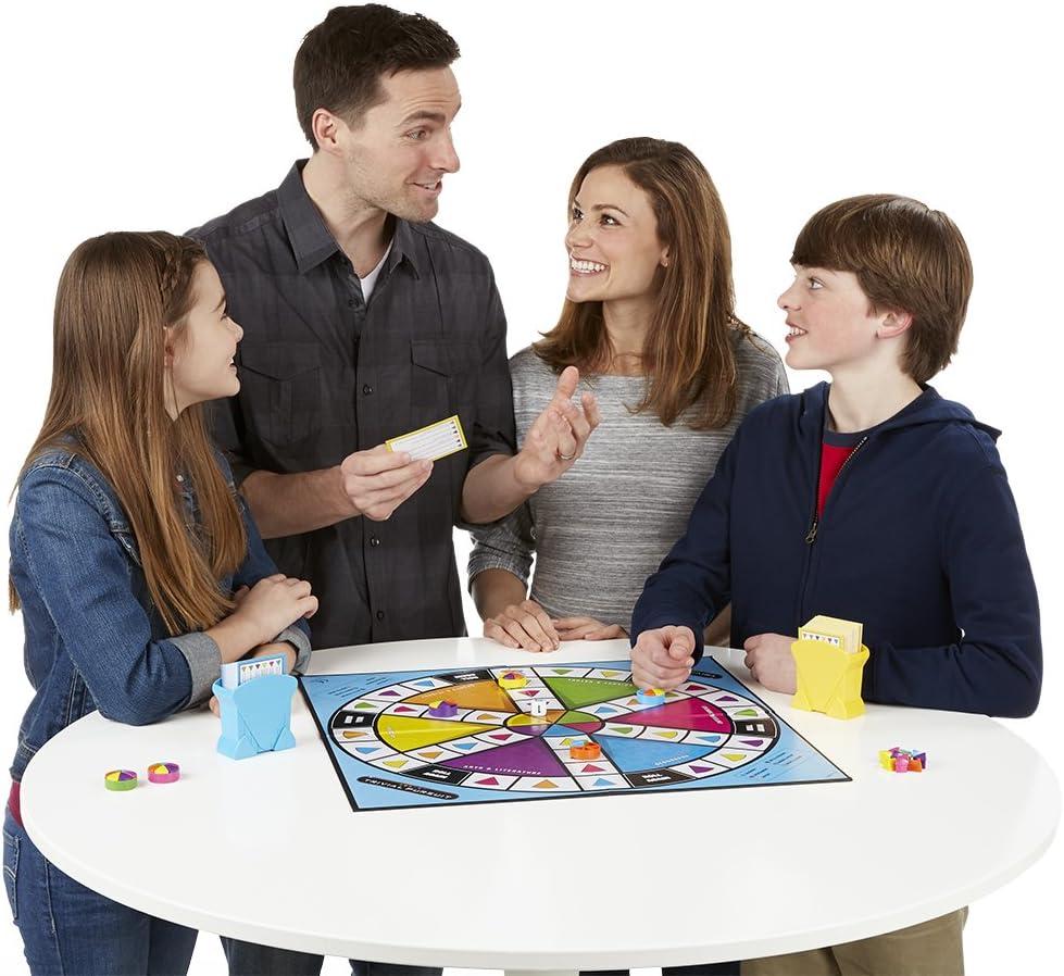 jugando a Trivial en familia