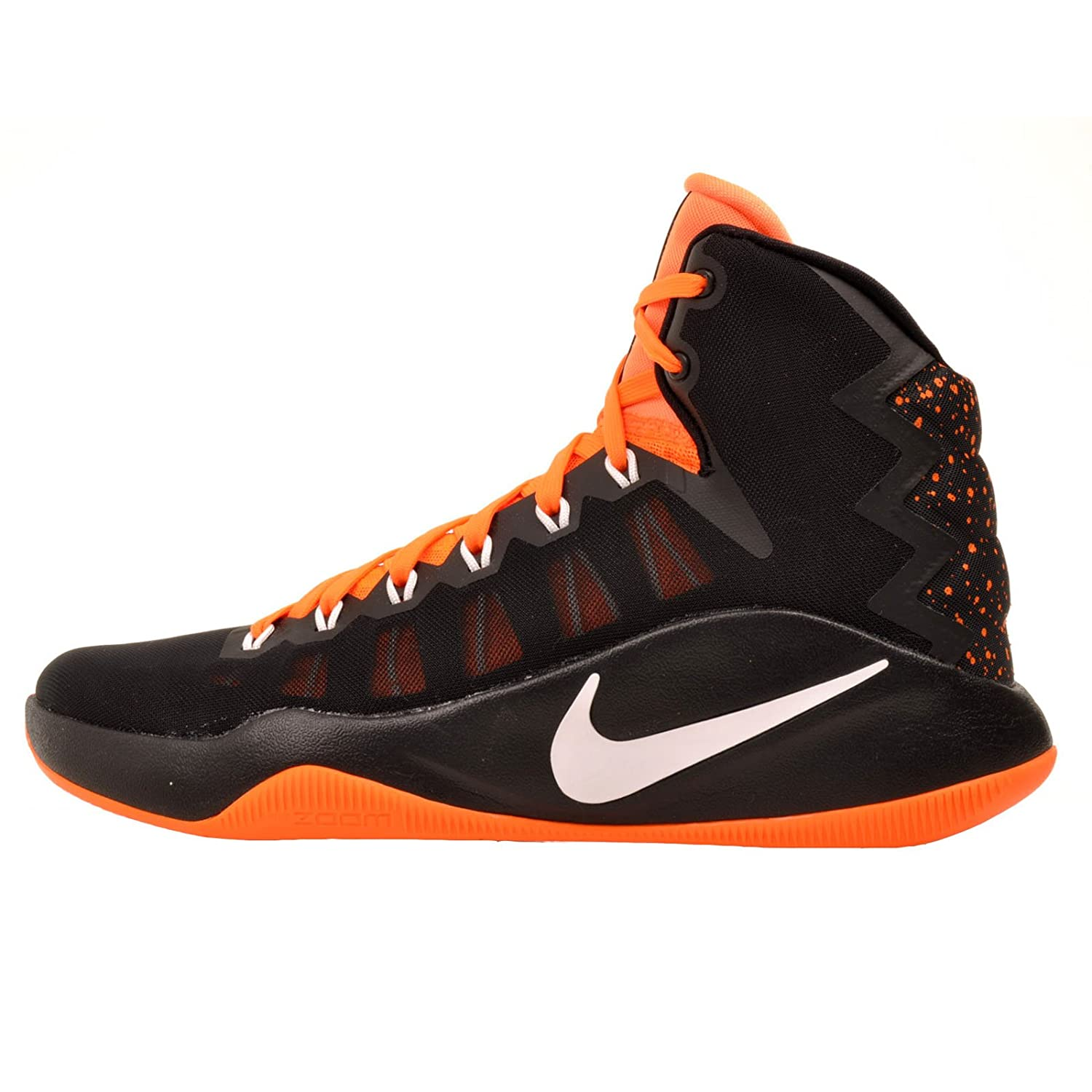 reputable site 9279f fe6a6 Amazon.com   Nike Men s Hyperdunk Black Wolf Grey Bright Orange Hyperdunk  2016 SE Basketball Shoes, Size 12 M (US)   Basketball