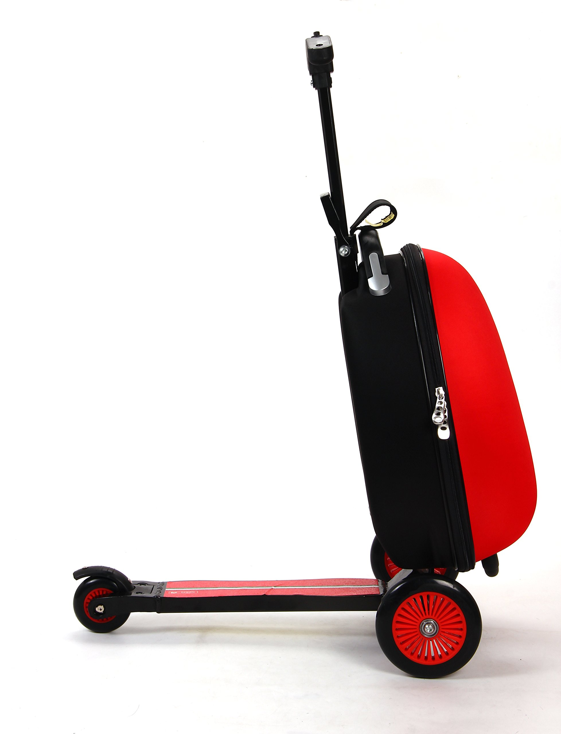 Ferrari Kids Scooter Luggage, Red by Ferrari (Image #2)