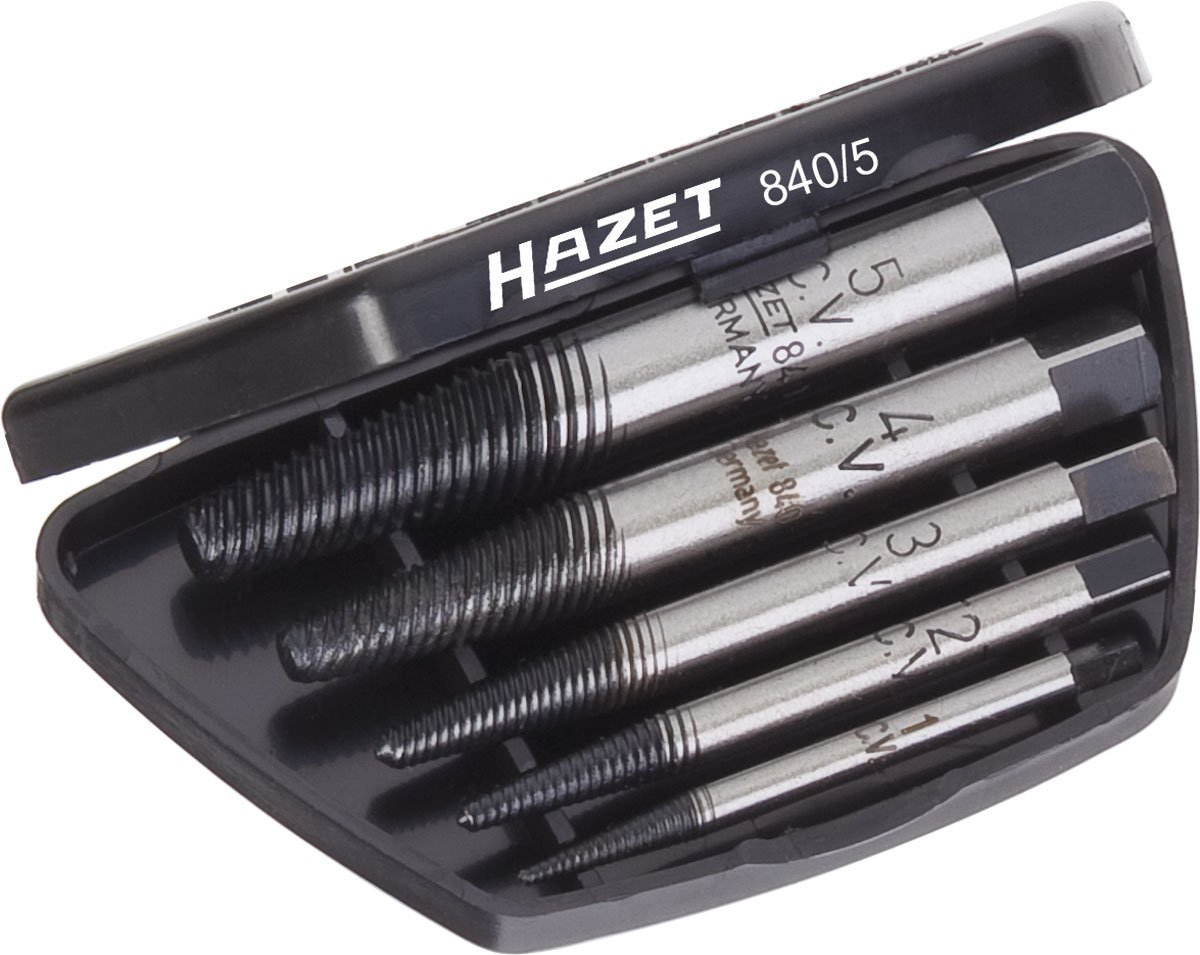 Black//Blue//Silver Hazet 3//8-Inch 276 mm Reversible Ratchet with Hinge Joint