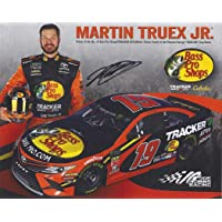$78 » AUTOGRAPHED 2019 Martin Truex Jr. #19 Bass Pro Shops Toyota NEW RACE TEAM (Joe Gibbs Racing) Monster Energy Cup Series Signed Collectible…