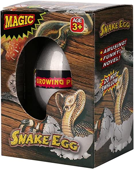 Magic Hatching Dinosaur Add Water Growing Dino Eggs Inflatable Child Kid Toy UK