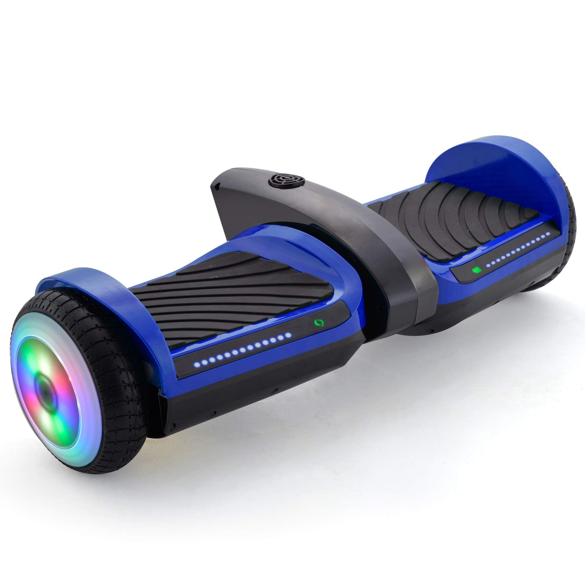 V-Fire UL2272 6.5'' Balance Board with Mist Spray and Sound Effects - Electric Hoverboard with Bluetooth and Lights - Self Balancing Hoverboard with LED Light and Built-in Bluetooth Speaker (Blue)