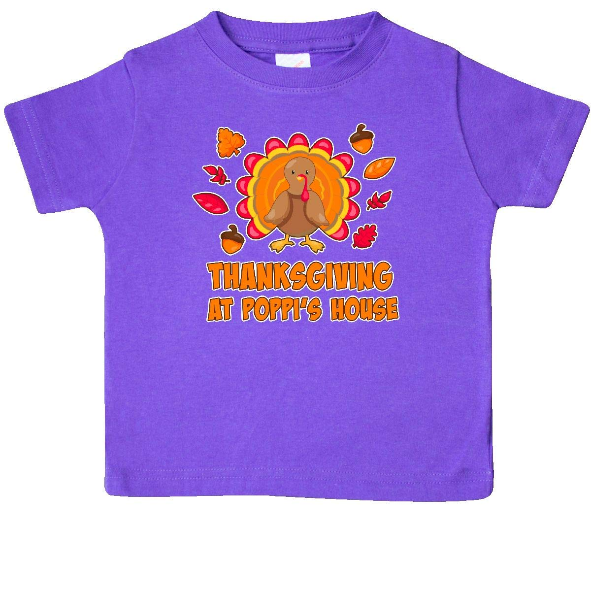 inktastic Thanskgiving at Poppis House Baby T-Shirt