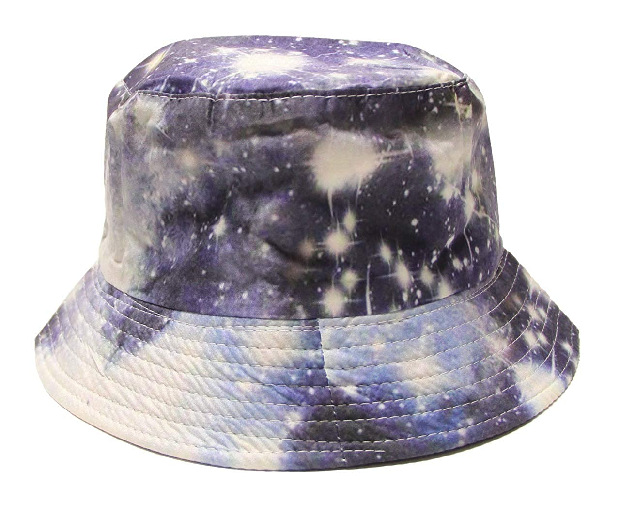 By Neki 100/% Cotton Adult Galaxy Bucket Hat Fisherman Outdoor Cap Men Women Holiday Sun UK