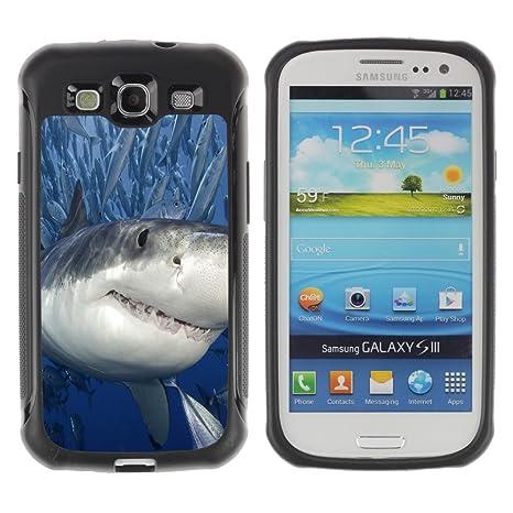 IArmor Hybrid Hulle Tasche Schutzhulle Case Cover Killer Hai Mit