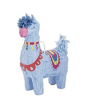 COOLMP - Lote de 6 Mini piñata Hoja Azul 16 cm - Talla única ...