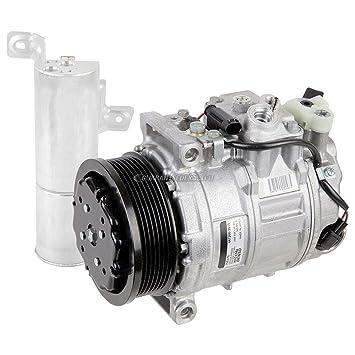 Original OEM nueva AC Compresor y embrague con a/c secador para Mercedes CL &