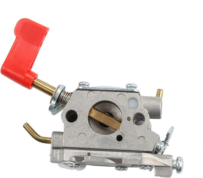 Nrpfell Carburatore C1U-W32 per Poulan 545006017 Carburatore Adatto per RS32 SM446E PP136E Zama C1U-W32 Zama per 358791042