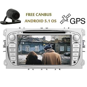 La venta caliente 2 din GPS Android 5.1 OS DVD de navegaci¨®n del
