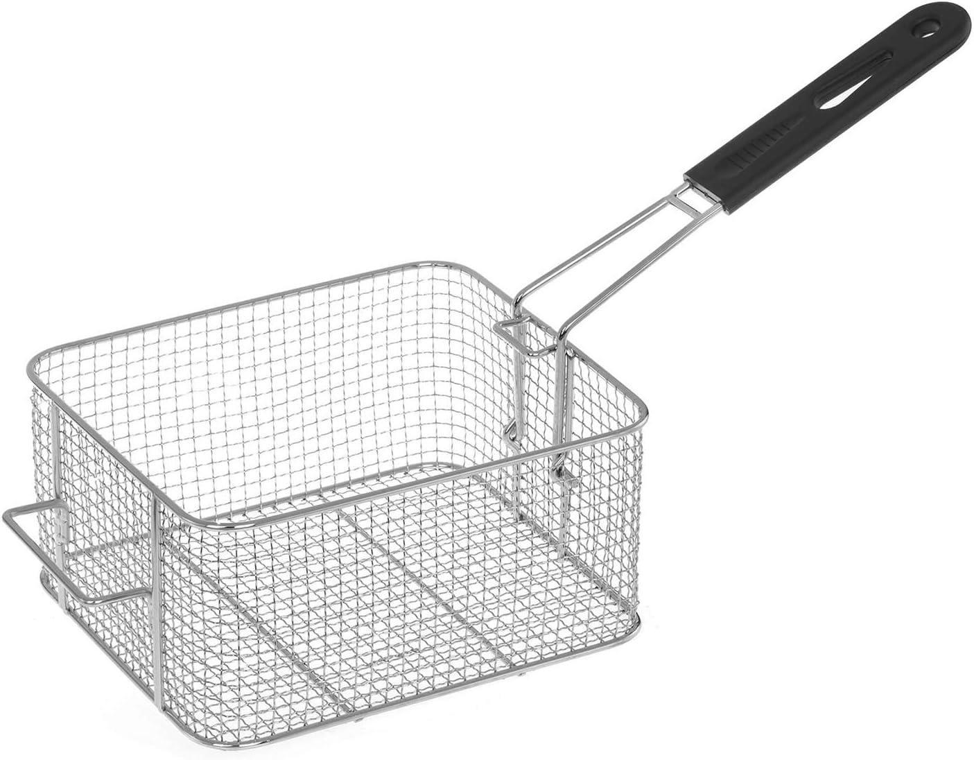 Royal Catering Freidora Industrial Profesional RCEF-10DY-ECO (doble con doc cestas 2 x 10 Litros, 2 x 3.200 W, 230 V, Termostato, Acero Inoxidable): Amazon.es: Hogar