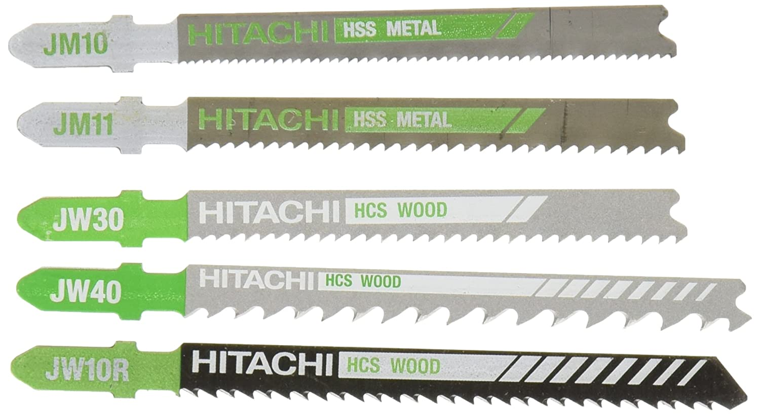Hitachi 725373 set of 5 all purp jigsaw blades amazon keyboard keysfo Image collections