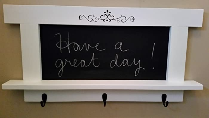 Amazon Chalkboard Wall Rack Coat Hat Hanger Message Board With Stunning Chalkboard Coat Rack