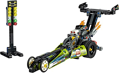 LEGO Technic Dragster 42103 Pull-Back Racing Toy Building Kit, New For 2020
