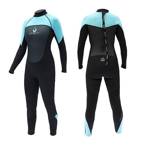 Legacy 3 2mm Womens Full Length Wetsuit Ladies Steamer XS-L  Amazon ... f4f13cb71