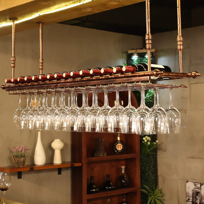 A 6030cm Red Wine Shelf Wine Glass Rack,Shelf Wine Glass Holder,Wine Glass Rack, Champagne Glass Rack,Glassware Rack Wine Rack,Goblet Glass Rack,Glassware Wine Rack, (color   A, Size   100  30cm)