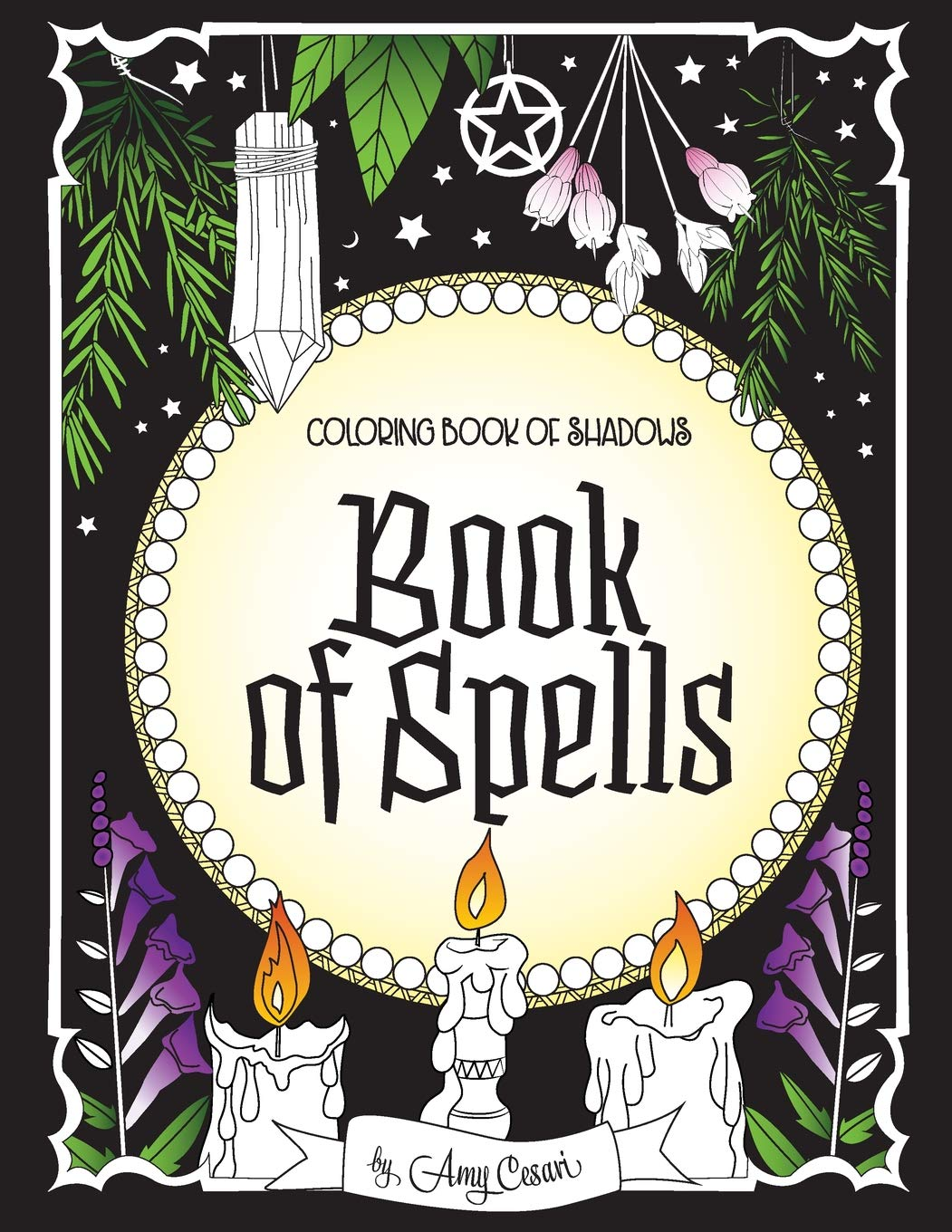 Coloring Book Shadows Spells product image