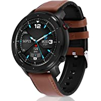 Smart Watch, Fullmosa Fitness Tracker with Heart Rate Sleep Monitor Bluetooth , IP68 Waterproof…