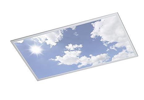 WOFI A LED Deckenleuchte Metall 50 W Integriert 600 x 55 x 1200 cm ...