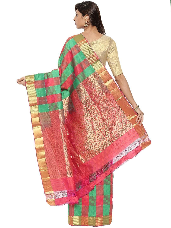 Kanchipuram Silk Saree with Running Blouse