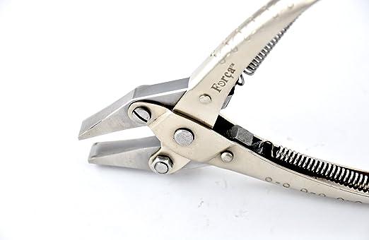 Forca rtgs-286 Jewelry paralelo acción alicates de punta plana pato BILLED mandíbulas - ancho 11 mm.: Amazon.es: Juguetes y juegos