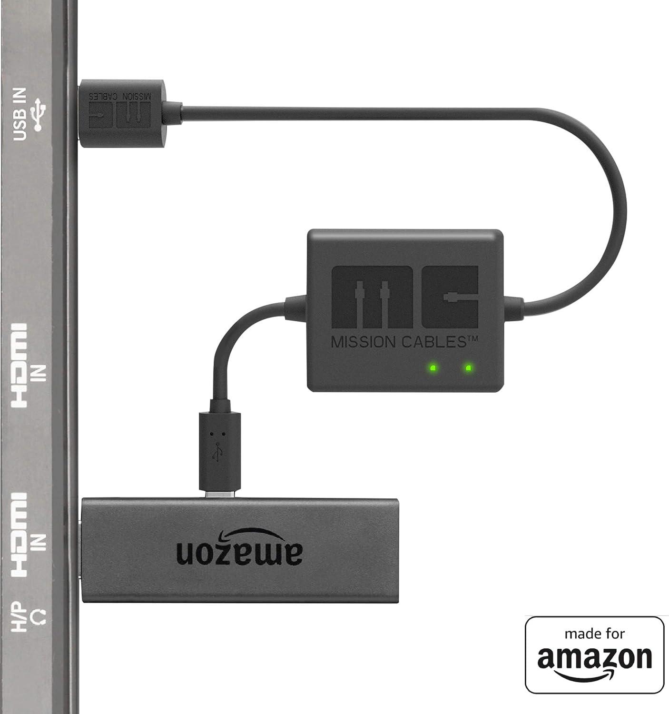 Mission Cables MC9E - Cable USB de alimentación para el Amazon ...