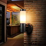 LED Wall Sconce Light ONEVER Waterproof Stainless