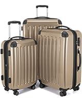 "HAUPTSTADTKOFFER - Spree - Set of 3 Hard-side Luggages Suitcase Hardside Spinner Trolley(20"", 24"" & 28"") TSA"