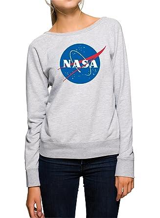 NASA Sweater Girls Grey Certified Freak-S