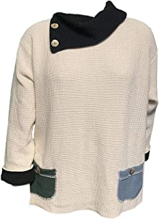 product image for Margaret Winters Cassandra Sweater Plus Size XL-2X - Great for Oval Shapes