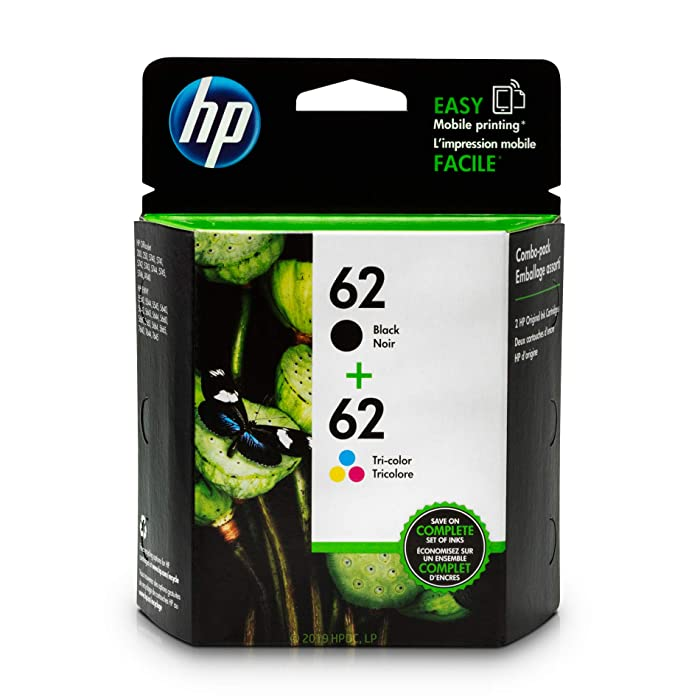 Top 10 Hp Ink Cartridge 62 Twin Pack