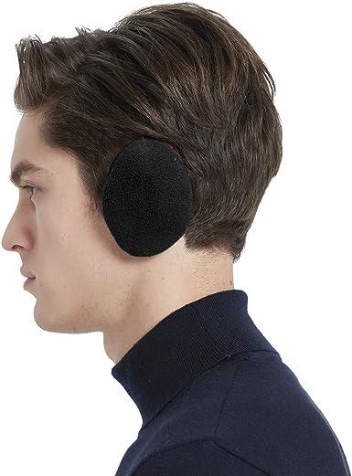 CRIPOP Bandless Ear Warmers Earmuffs - Winter Soft Fleece Ear Muffs/Covers  for Men/Women/Child, 3 Sizes 6 Color at Amazon Men's Clothing store