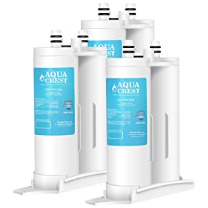 AQUACREST Replacement Refrigerator Water Filter, Compatible with PureSource2, FC100, 9916, 469916 (Pack of 3)