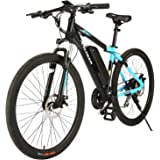 ANCHEER 350/500W Electric Bike 27.5'' Adults Electric Commuter Bike/Electric Mountain Bike, 36/48V Ebike with Removable…