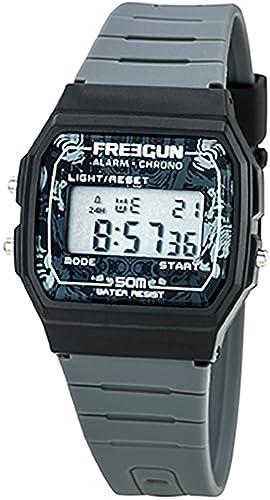 322b2d6658c50 Freegun Enfant Digital Quartz Montre avec Bracelet en Plastique EE5204