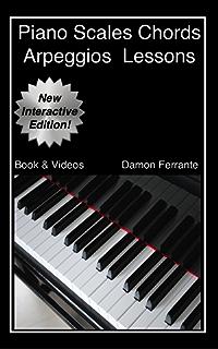 scales chords arpeggios cadences complete book piano rh amazon com Piano Keyboard Piano Chord Chart PDF