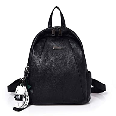 aaf07f771cb4 Amazon.com: Chibi-store New Fashion Young Girl Backpack PU Leather ...