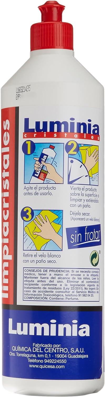 Luminia - Producto de Limpia Cristales - 750 ml - [Pack de 12 ...