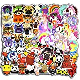 cool vinyl stickers - 115 Pcs Animals and Unicorn Stickers for Laptop Car Luggage Bicycle Motorcycle Computer Skateboard Snowboard Water Bottle Graffiti Vinyl Decal Pack Bomb Cool Sticker