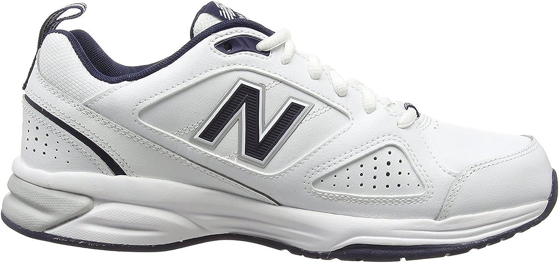New Balance 6E Zapatillas de deporte de ajuste extra ancho, color blanco y negro: Amazon.es: Zapatos y complementos