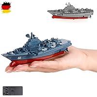 HSP Himoto RC teledirigido Mini buque de guerra