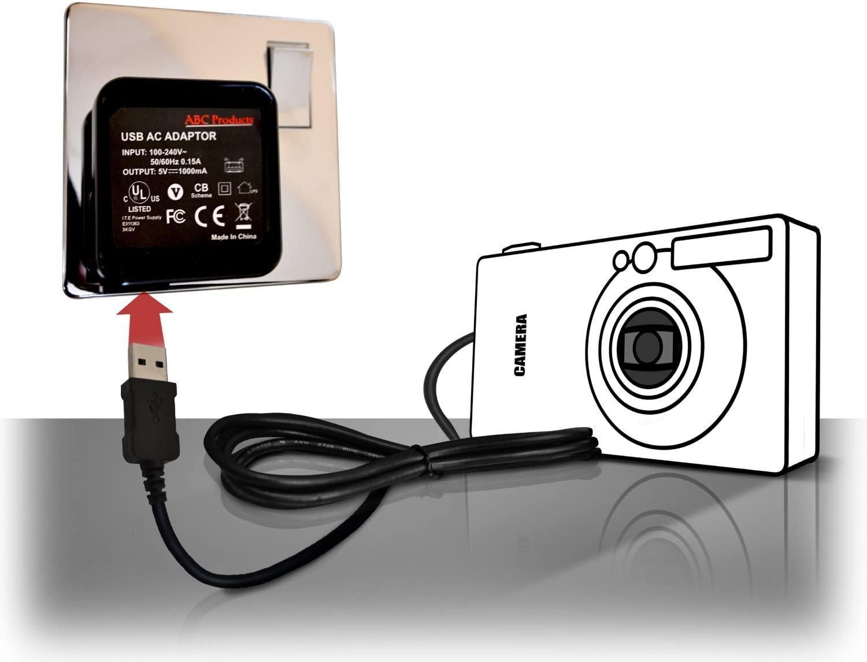 Abc Products Ersatz Olympus Akku Ladegerät Kamera