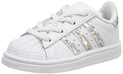 adidas Unisex Baby Superstar EL I Gymnastikschuhe