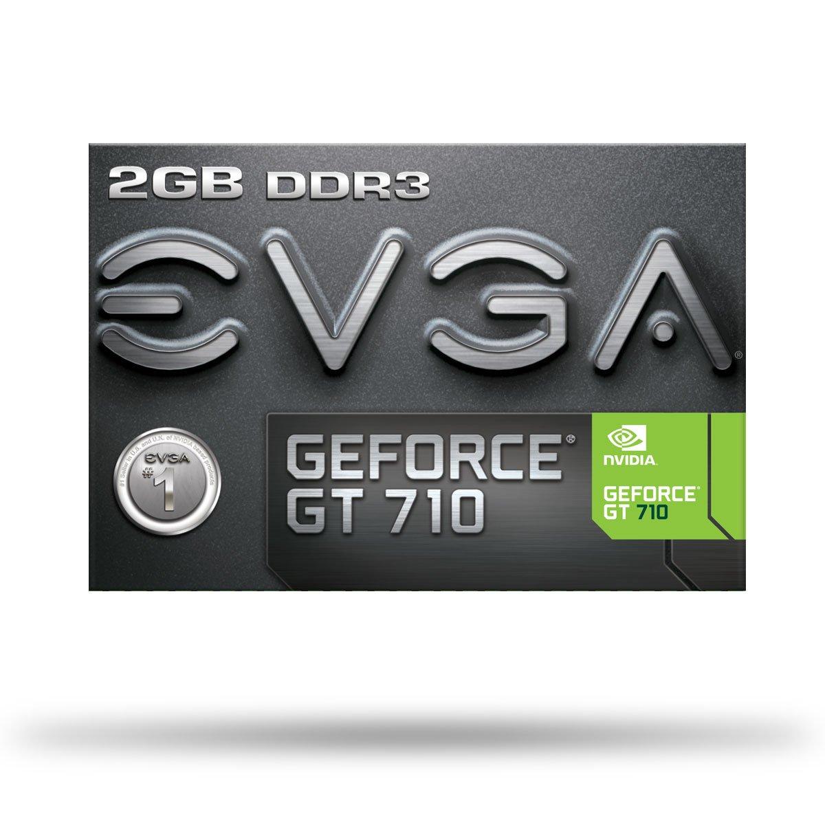 EVGA GT 710 2GB DDR3 64bit Single Slot, Dual DVI 02G-P3-2717-KR by EVGA (Image #8)
