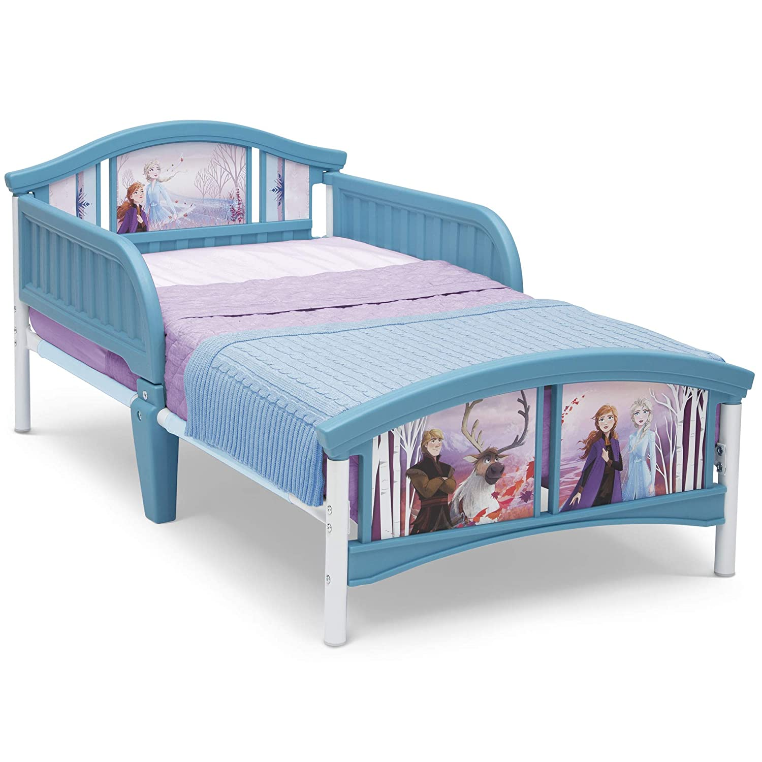 Delta Children Plastic Toddler Bed, Disney Frozen II