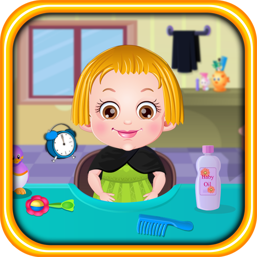 Baby with luxurious hair subdued Network 64