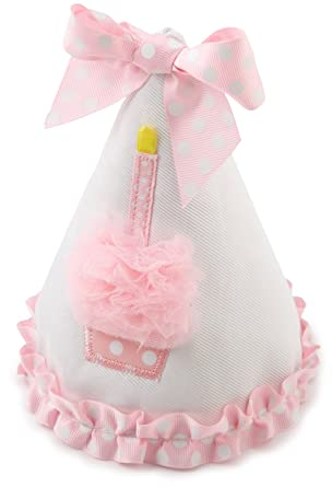 Amazoncom Girls First Birthday Hat Clothing