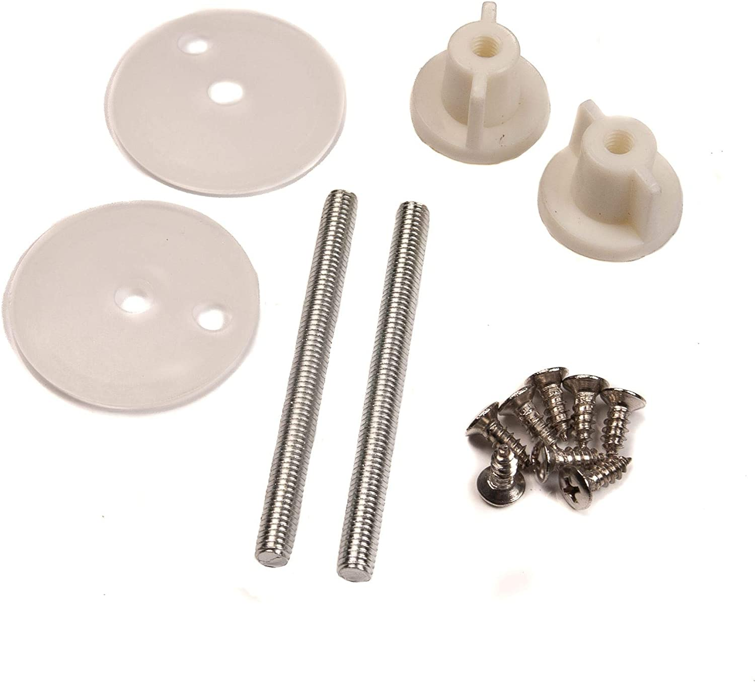 Toilet Seat Hinge Bolts Replacement Bolt Screws Washers Fixing Fitting Kit WC