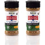 Redmond Real Sea Salt - Natural Unrefined Organic Gluten Free, Seasoning Shaker (2 Pack)