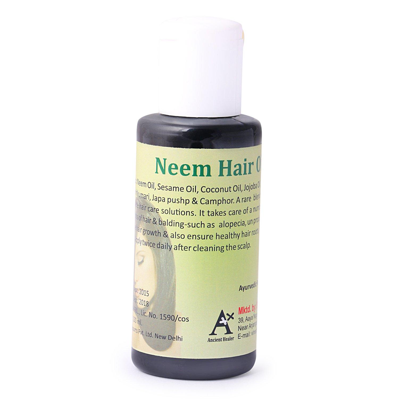 Healing camphor oil for hair